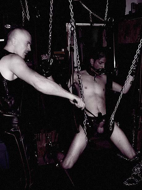 bondage gay sling