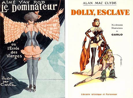 Le dominateur - Dolly, esclave - illustrations Carlo