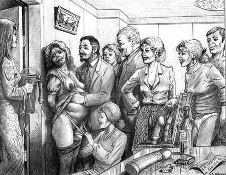 Bdsm 3D dessins de torture
