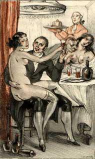 souper orgiaque par Lafnet