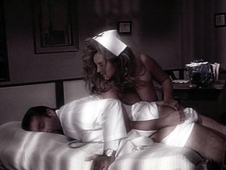 infirmière dominatrice et patient soumis