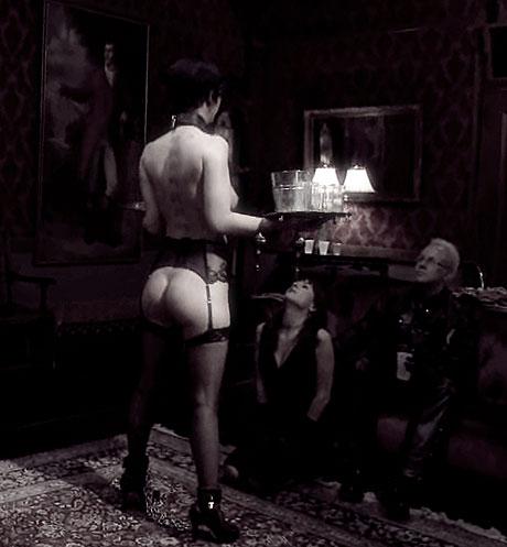 jeu de rôle sexuel - maître et servante