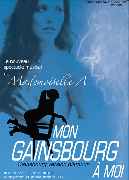 Mademoiselle A - spectacle Mon Gainsbourg à moi