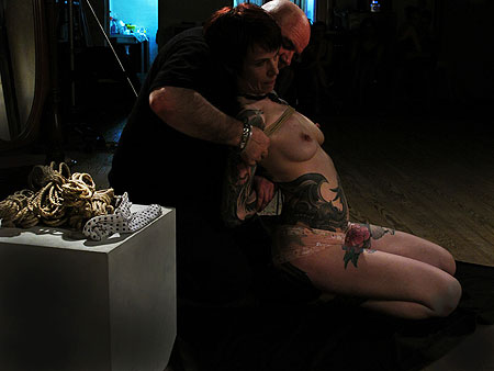 shibari - newasa de Dr Phil sur Jamie Vs - photo Paul Wagner