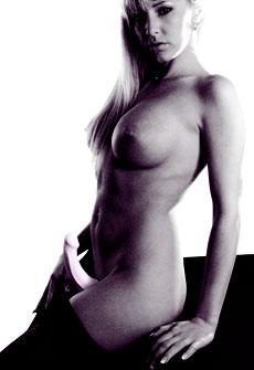 femme nue avec bas et le share de fun factory