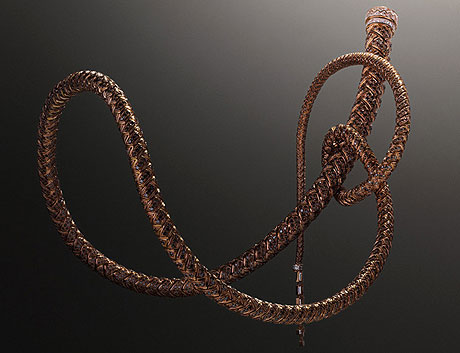 Collier fouet en diamants Hermès - photo Erwan Frotin